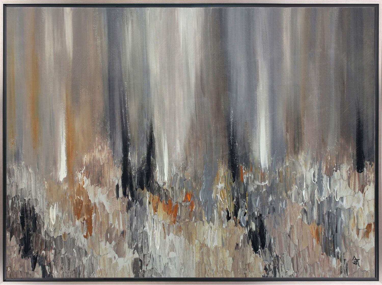 """Abstract – 48.63"""" x 36.63"""""""