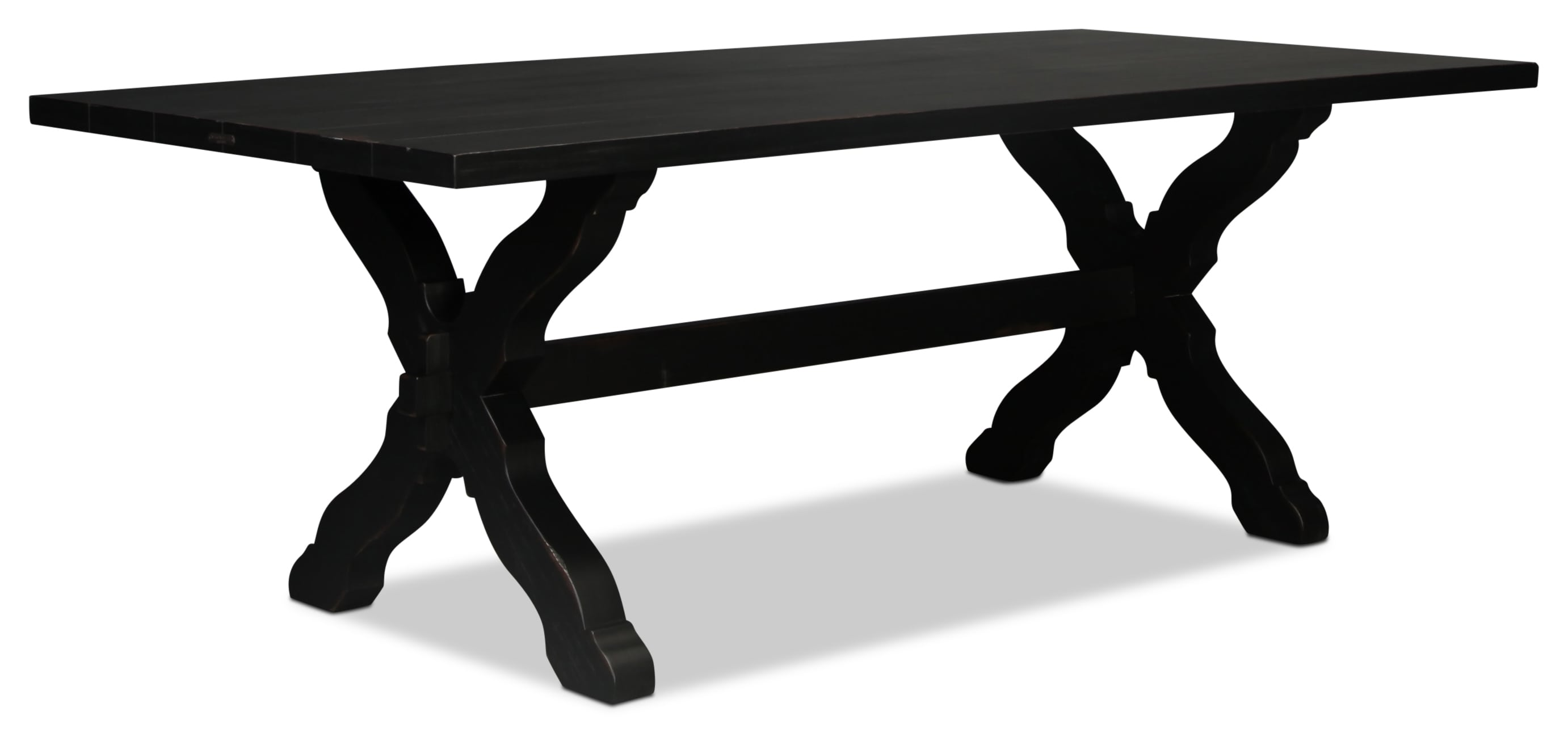 Magnolia Home Primitive Sawbuck Dining Table
