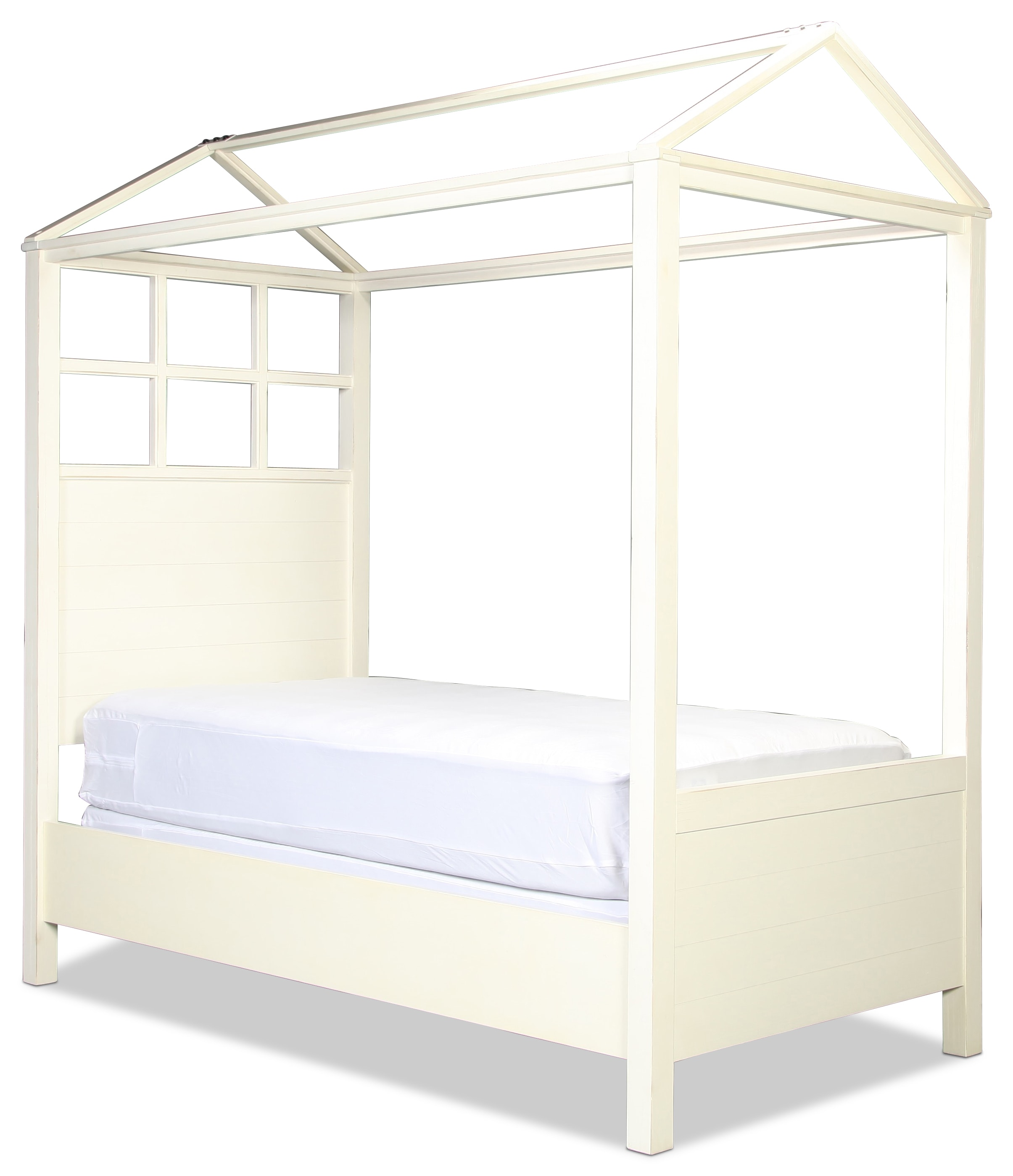 Magnolia Home Twin Playhouse Canopy Bed