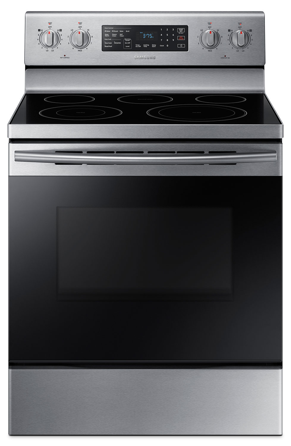 Samsung 5.9 Cu. Ft. Freestanding Electric Convection Range – NE59M4320SS/AC