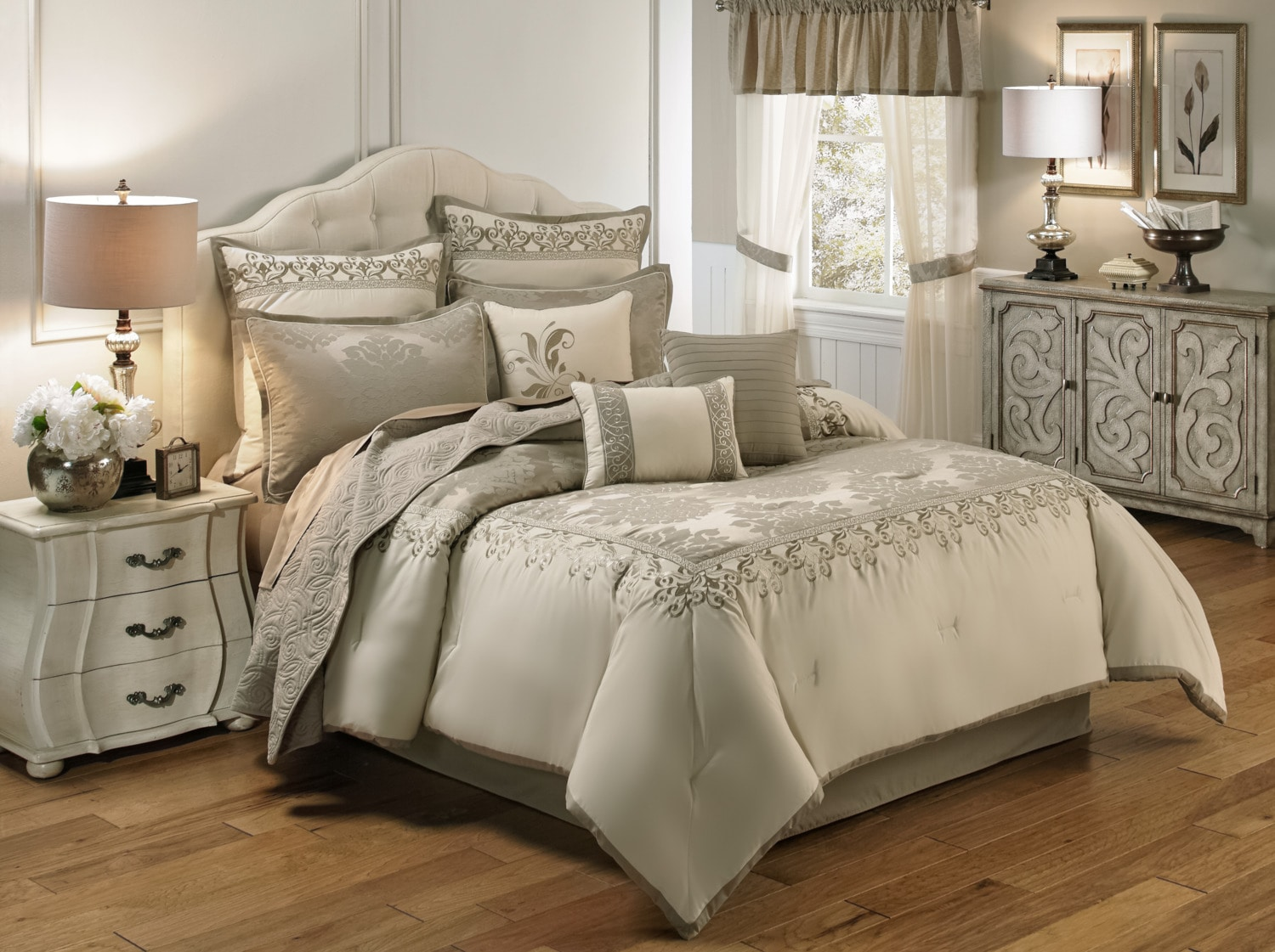 New Haven 9-Piece Queen Comforter Set