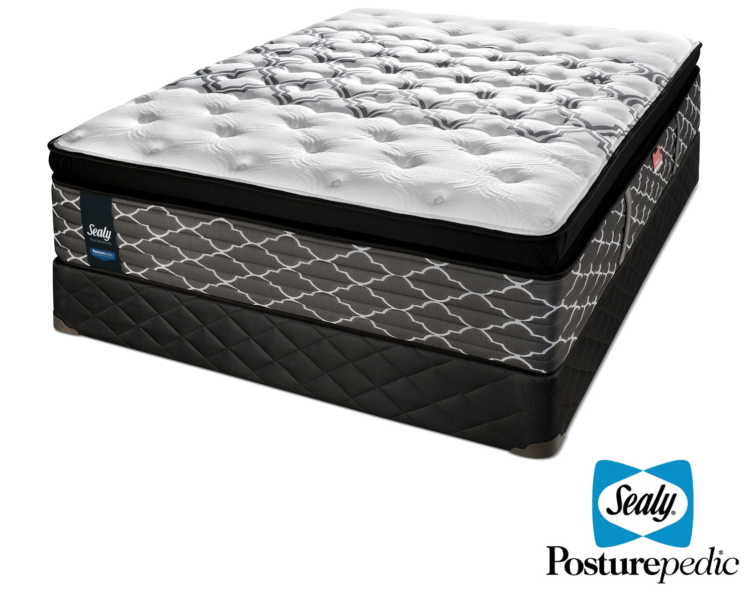 The Sealy Endless Night Hybrid Cushion Firm Mattress Collection