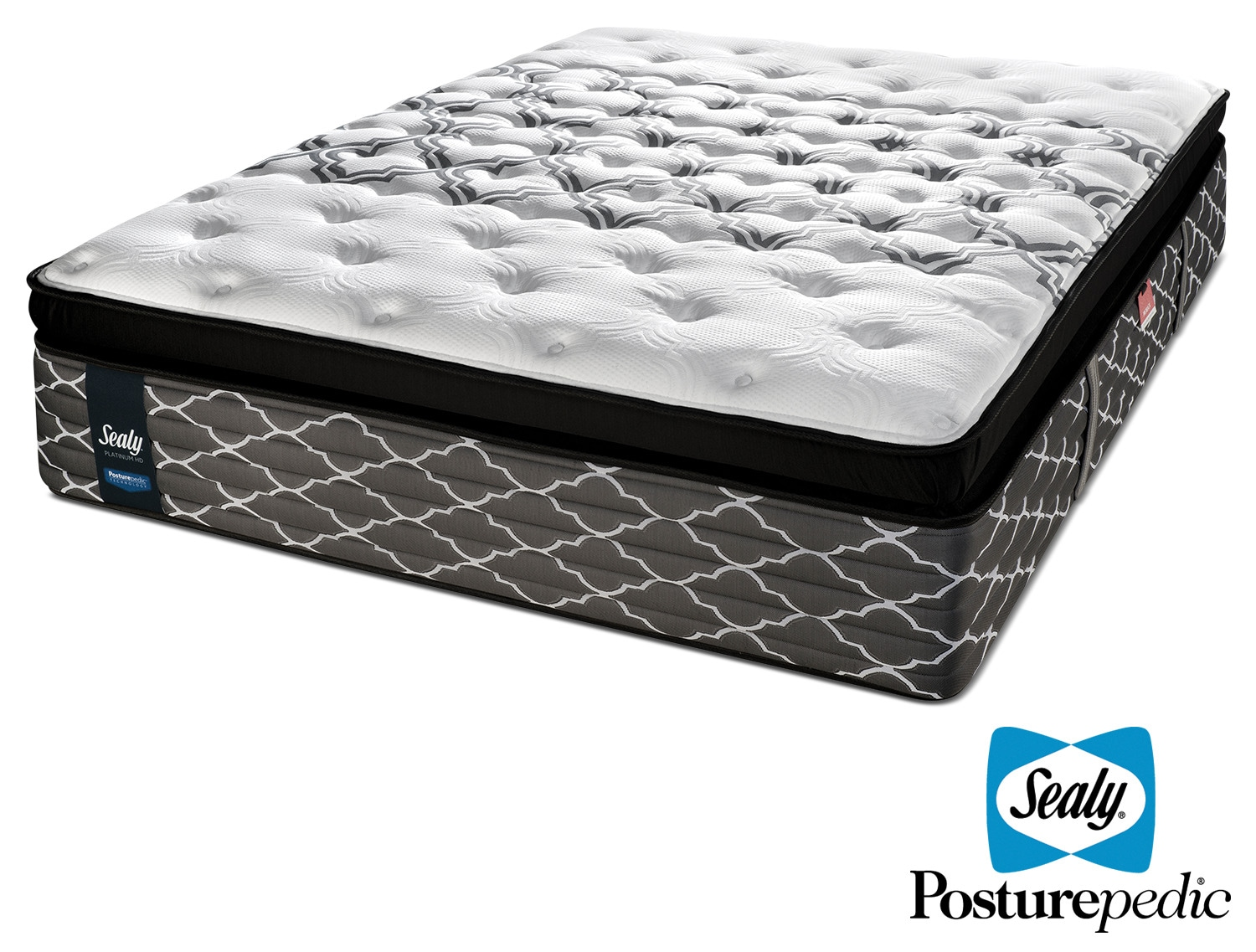 Sealy Endless Night Hybrid Cushion Firm Queen Mattress Leon 39 S