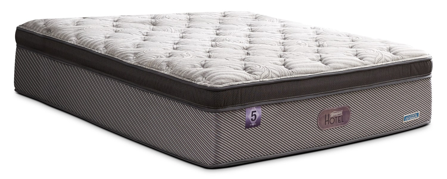 Mattresses and Bedding - Beautyrest® Hotel Diamond 5 Comfort-Top Luxury Firm Twin Mattress