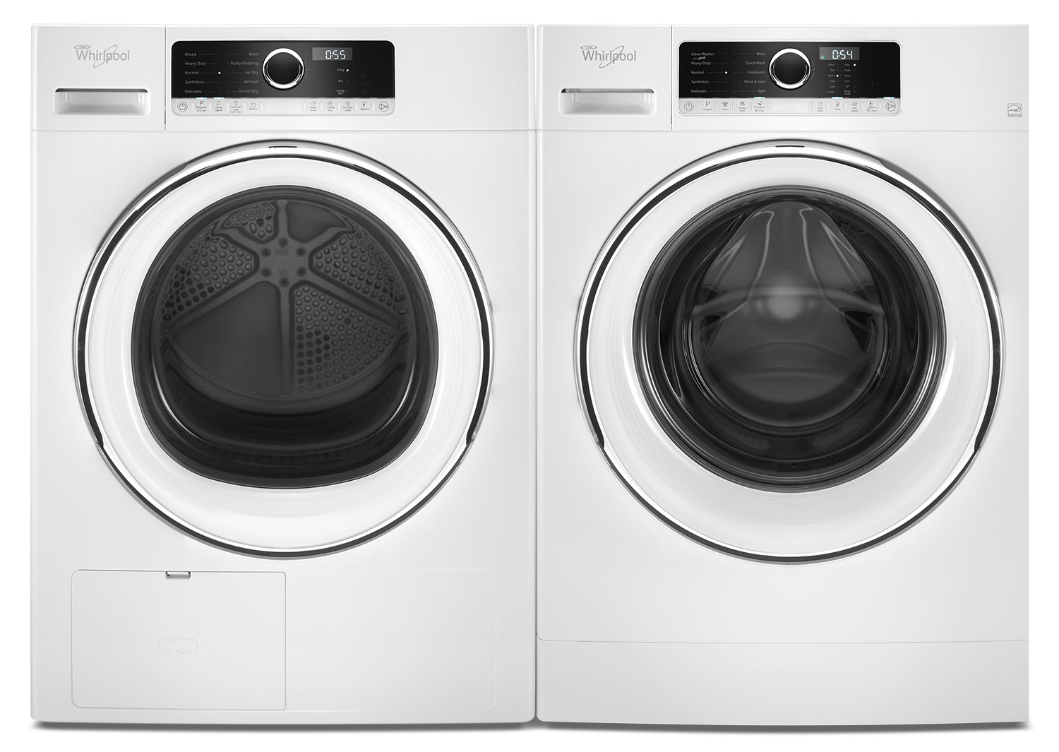 Whirlpool Laundry Pair With FREE Stacking Kit - YWHD5090GW/WFW5090GW