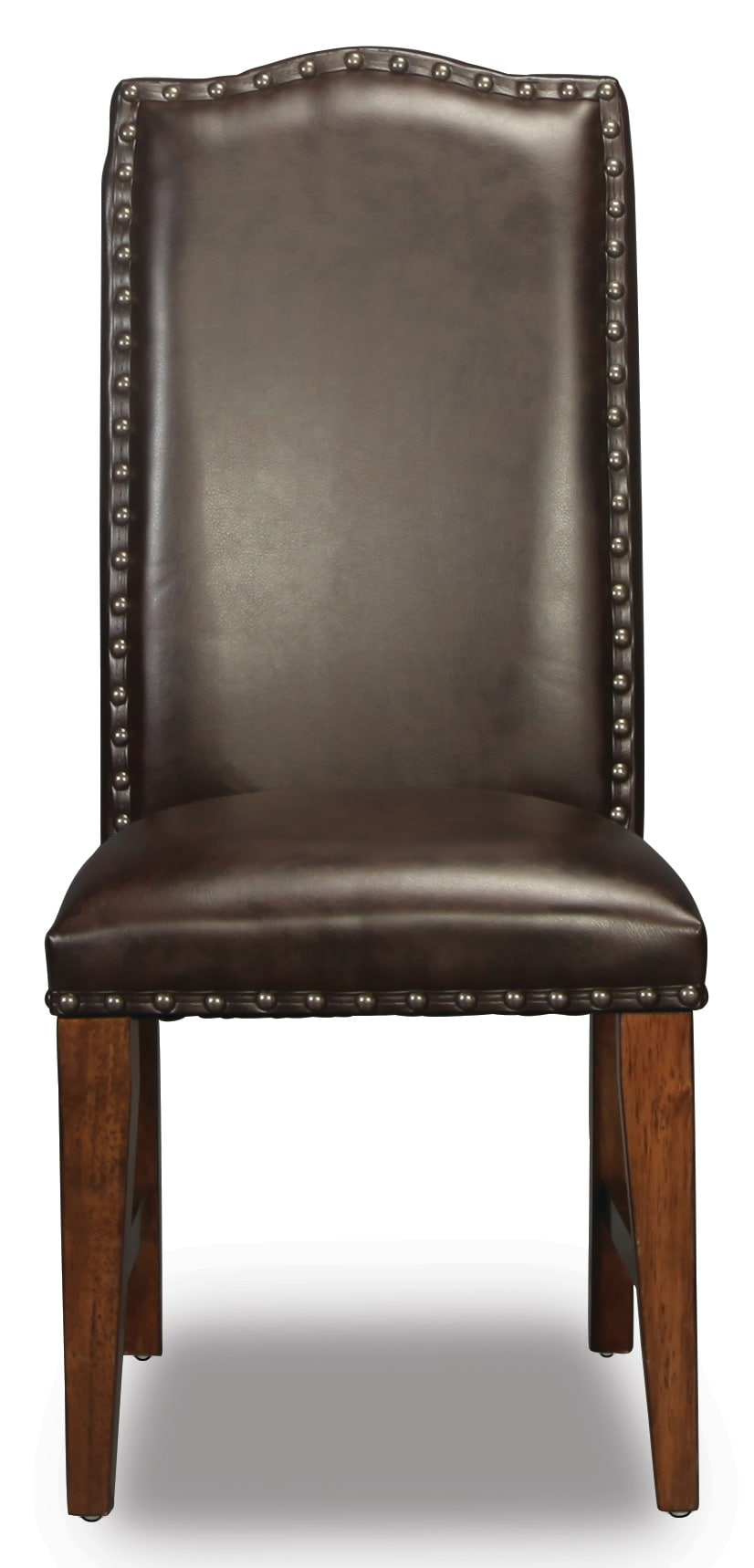 Nora Bonded Leather Side Chair