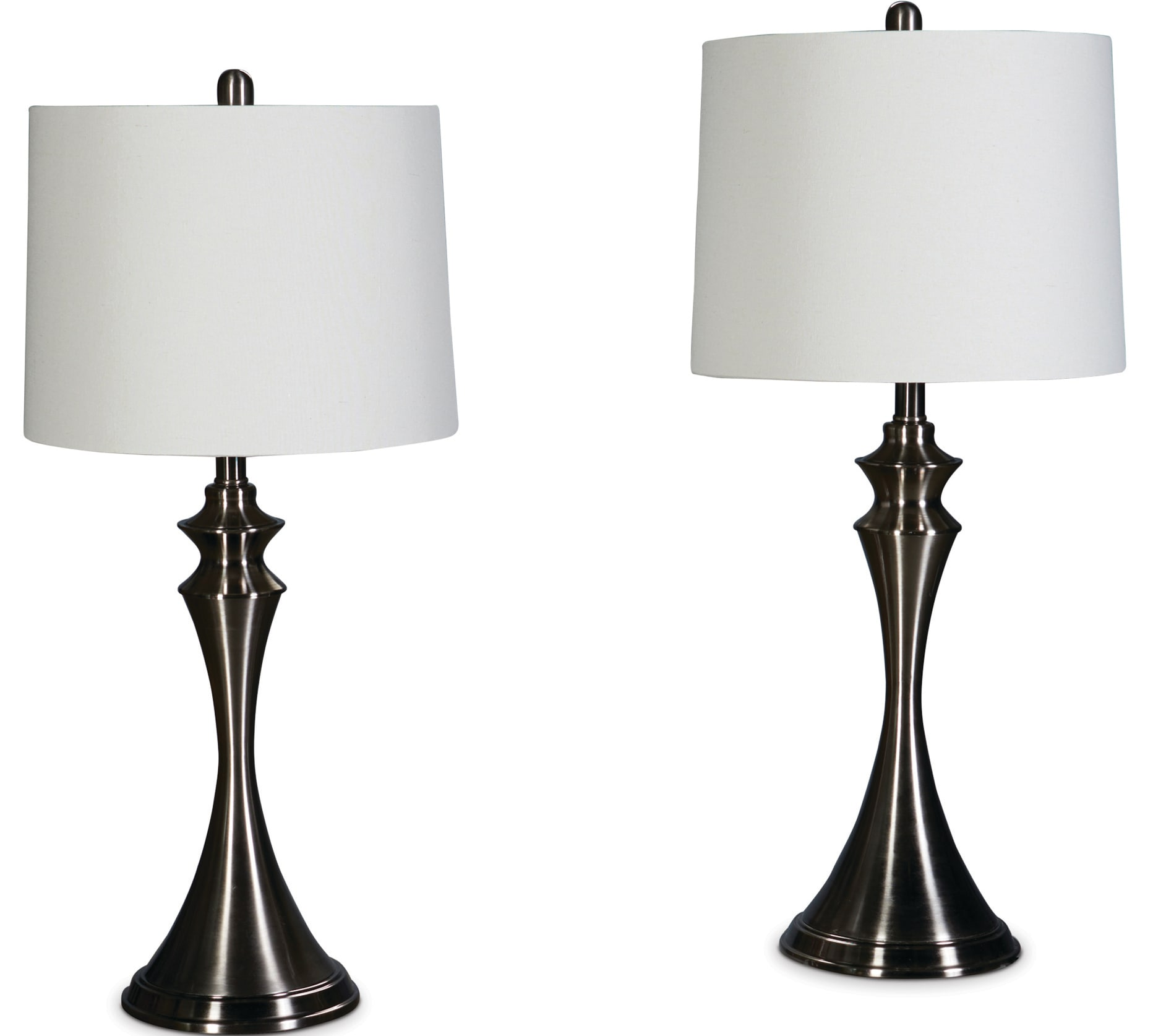 Table Lamps - Satin Nickel