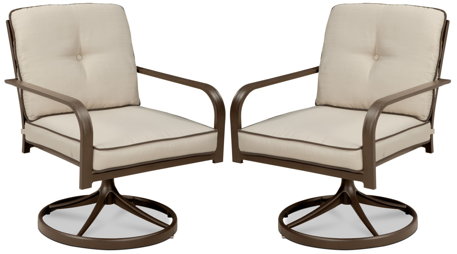Predmore Swivel Lounge Chair, Set of 2