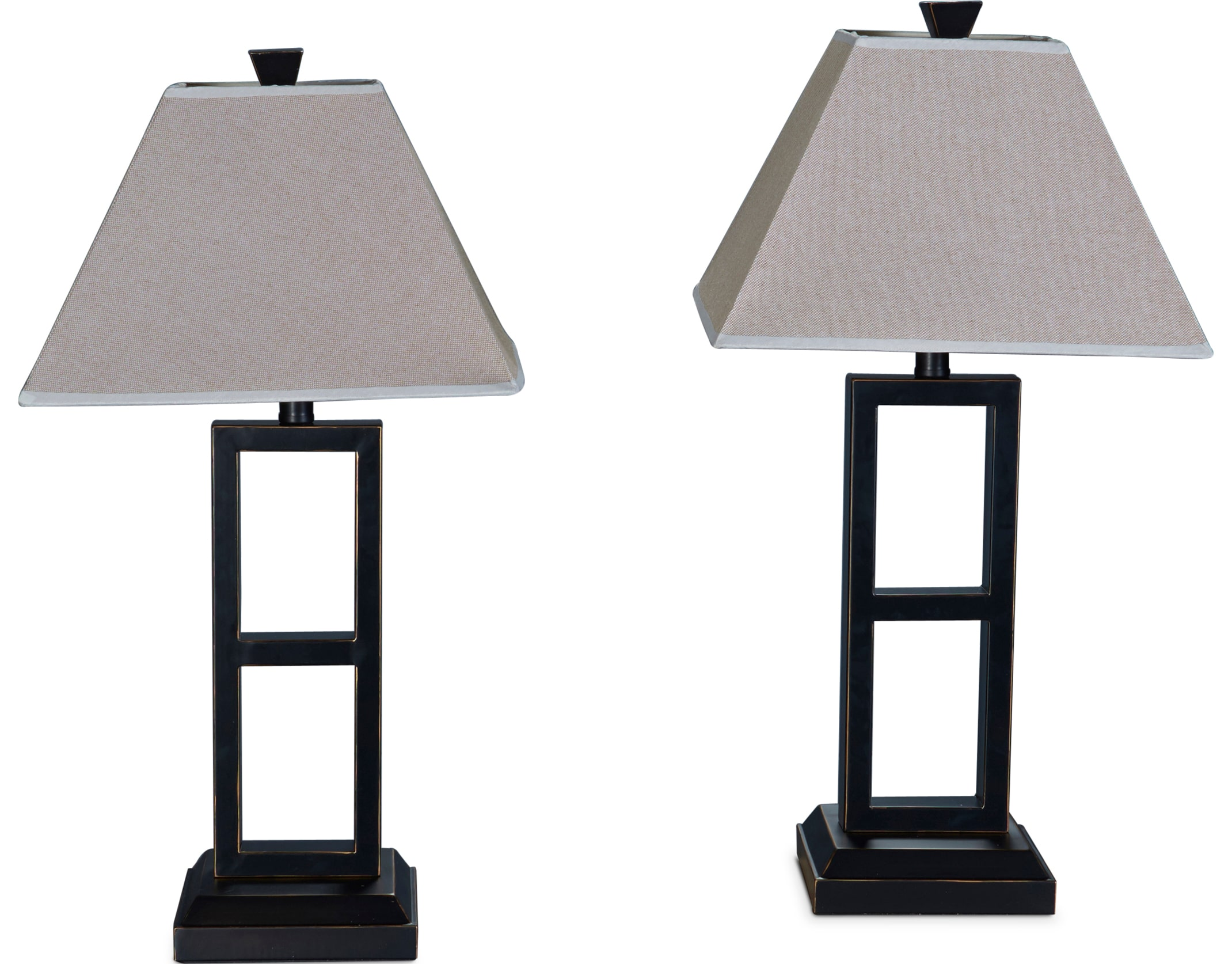 Table Lamps - Black