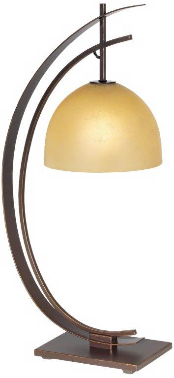 orbital bronze table lamp