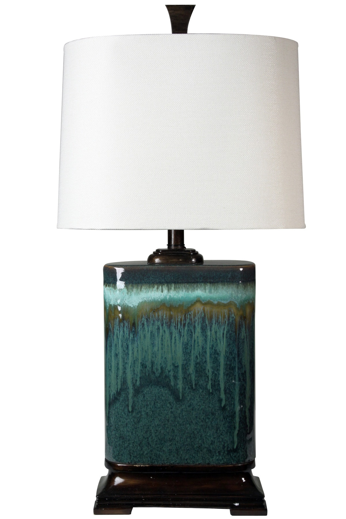 Aura Blue Ceramic Table Lamp