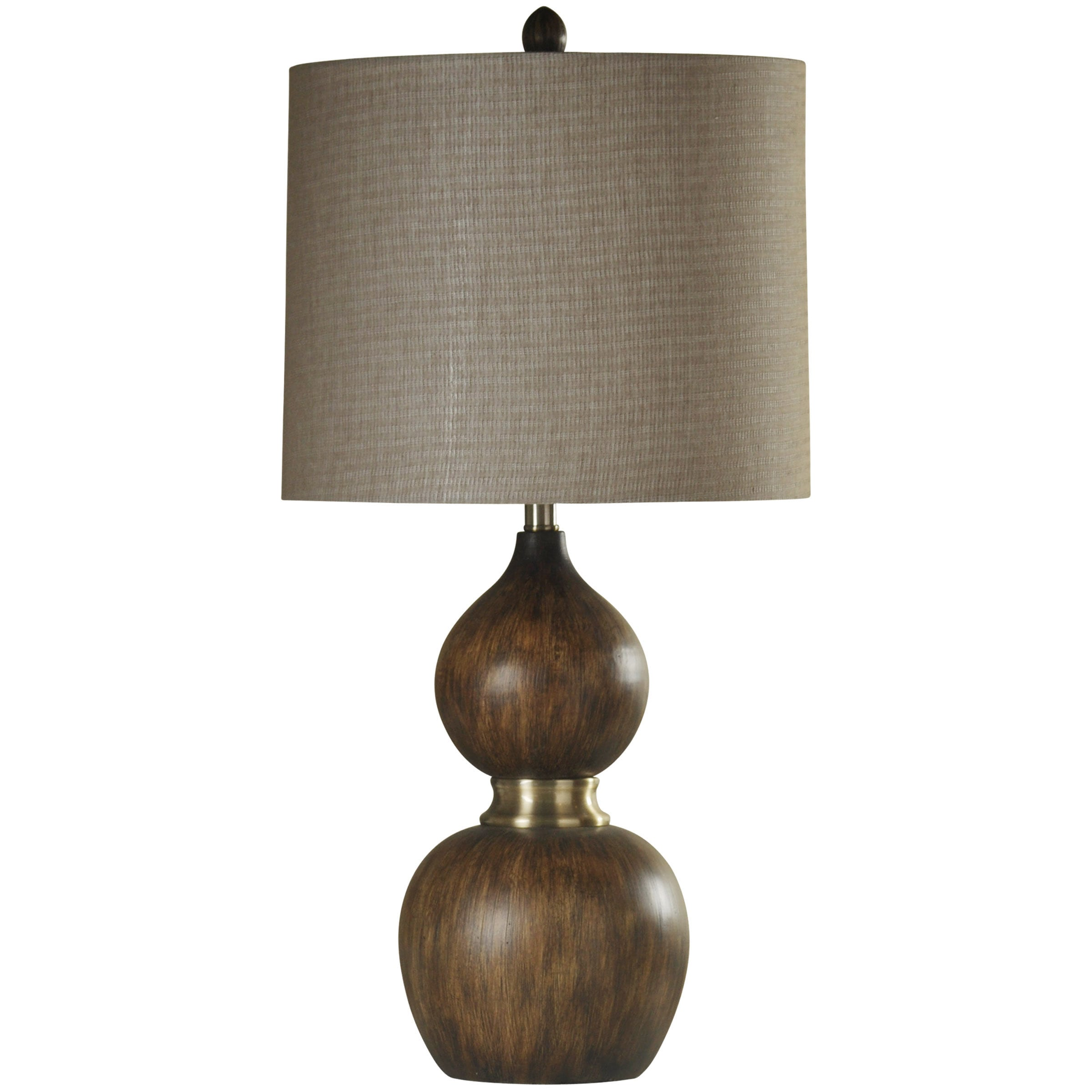 Arcadia Faux Wood Table Lamp