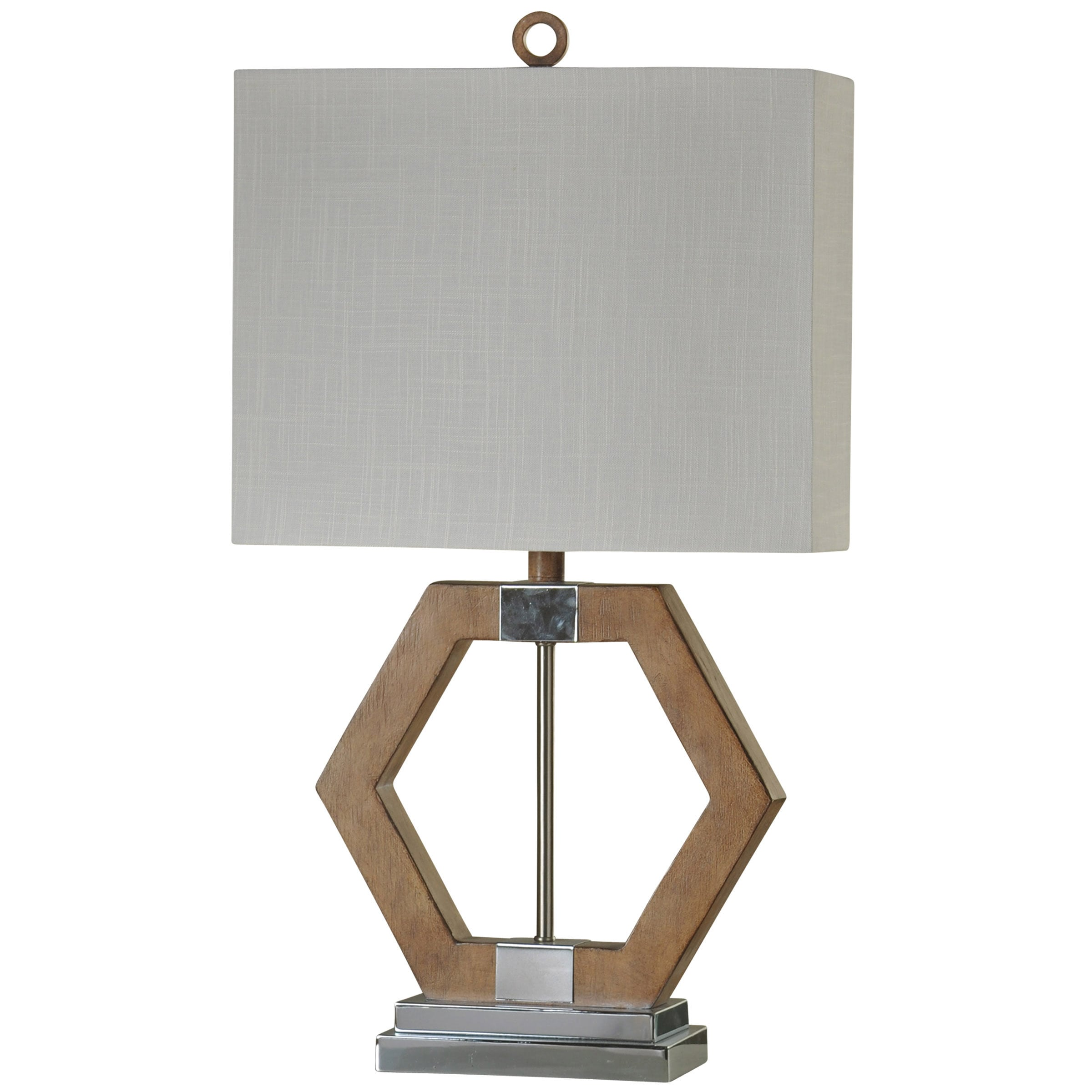 Hexan Geometric Table Lamp