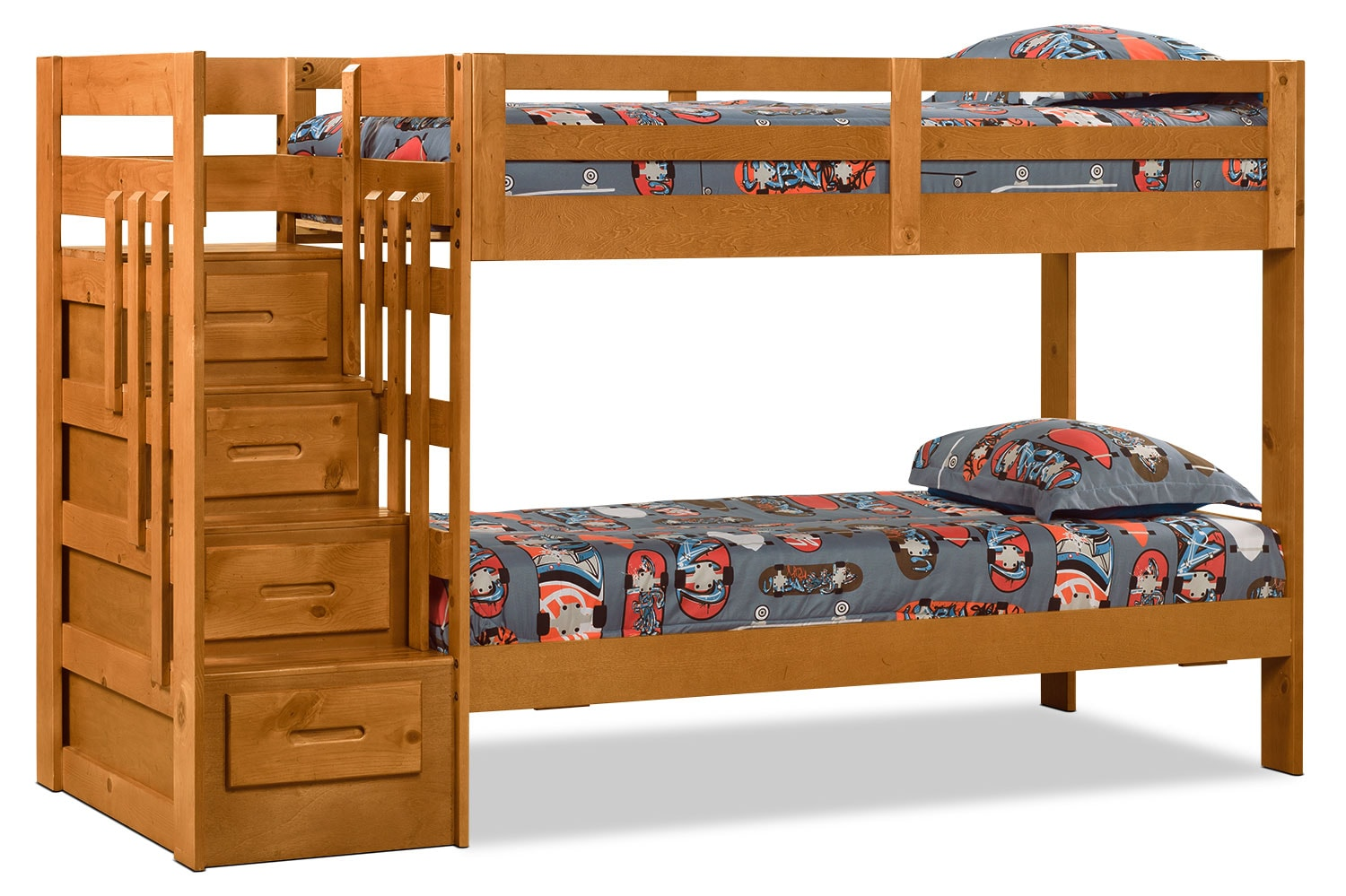 Ponderosa Staircase Bunk Bed