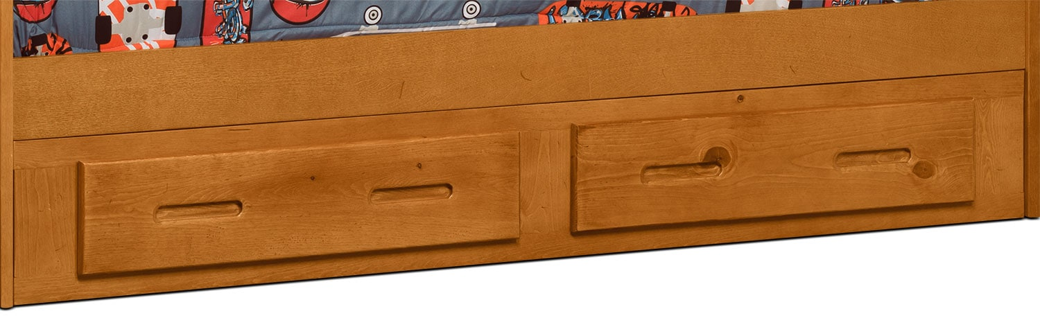Kids Furniture - Ponderosa Storage Trundle