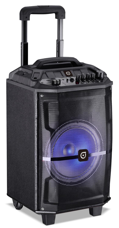 Systèmes audio - Haut-parleur portatif Jumbo Sylvania à hayon de 12 po avec Bluetooth