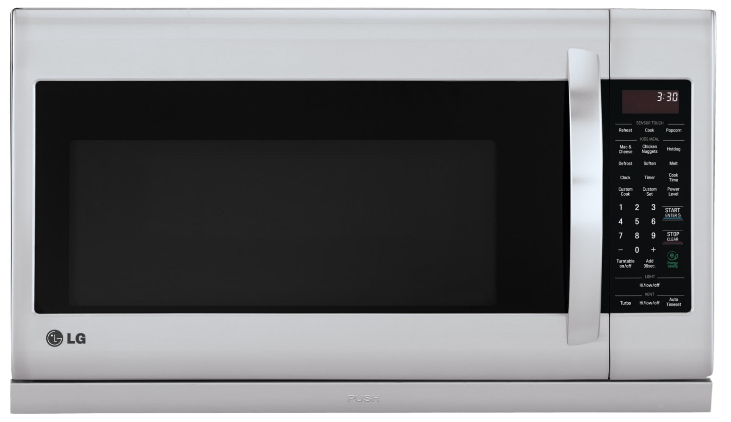 LG Appliances Stainless Steel Over-the-Range Microwave (2.0 Cu. Ft.) - LMV2055ST