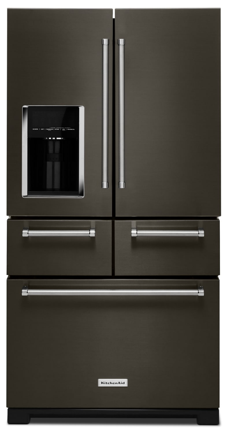 KitchenAid 25.8 Cu. Ft. Multi-Door Refrigerator – KRMF706EBS