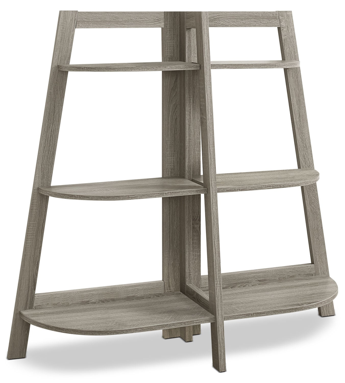 Aline Bookcase – Dark Taupe