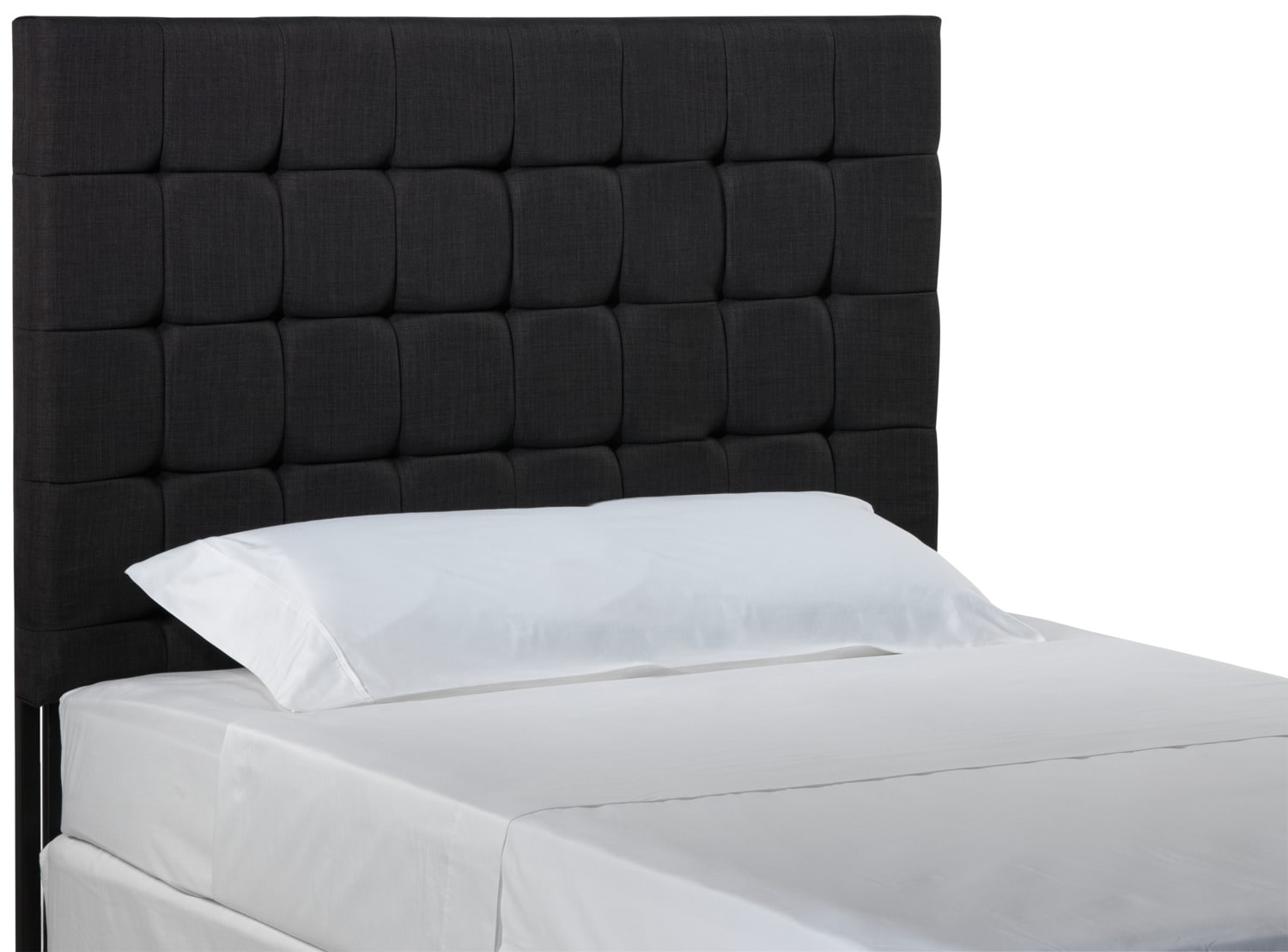 headboards  leon's - galvin king headboard  charcoal
