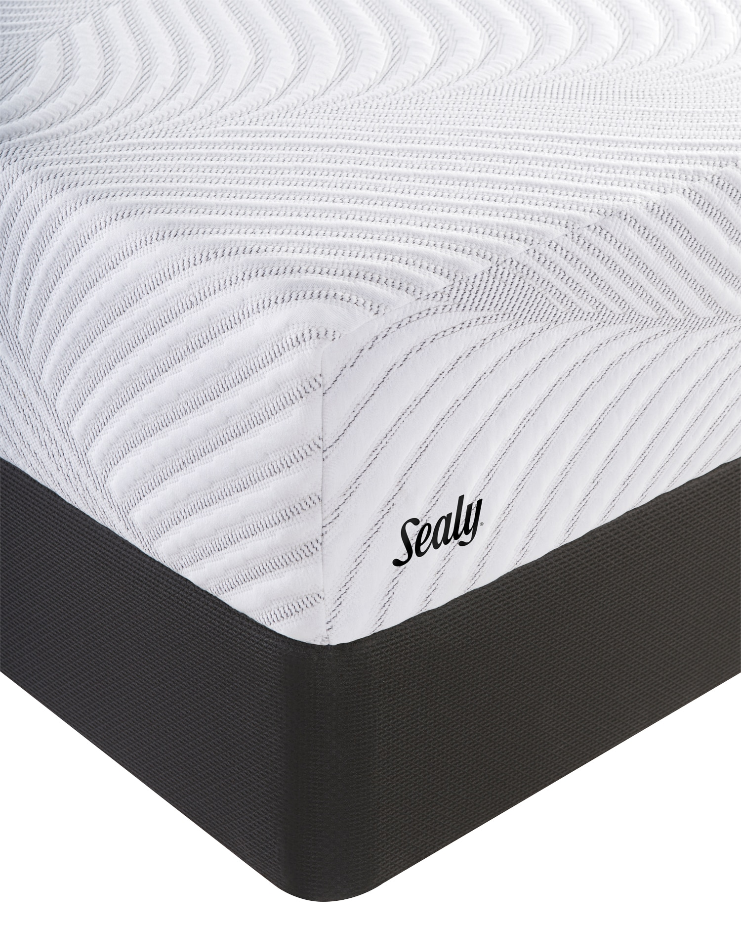 Sealy Upbeat Gel Memory Foam Queen Mattress And Foundation