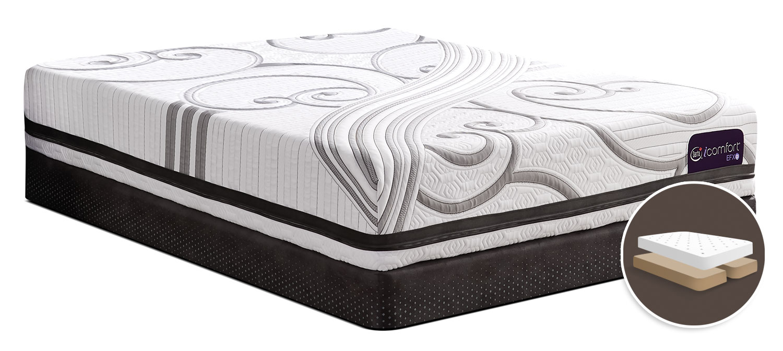 Serta iComfort® Fascinating Tight-Top Split Queen Mattress Set