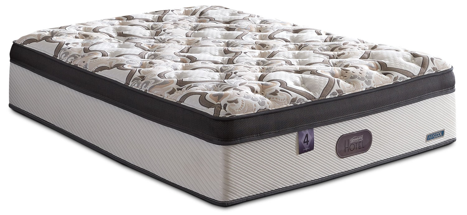 Beautyrest® Hotel Diamond 4 Comfort-Top Luxury Firm Full Mattress