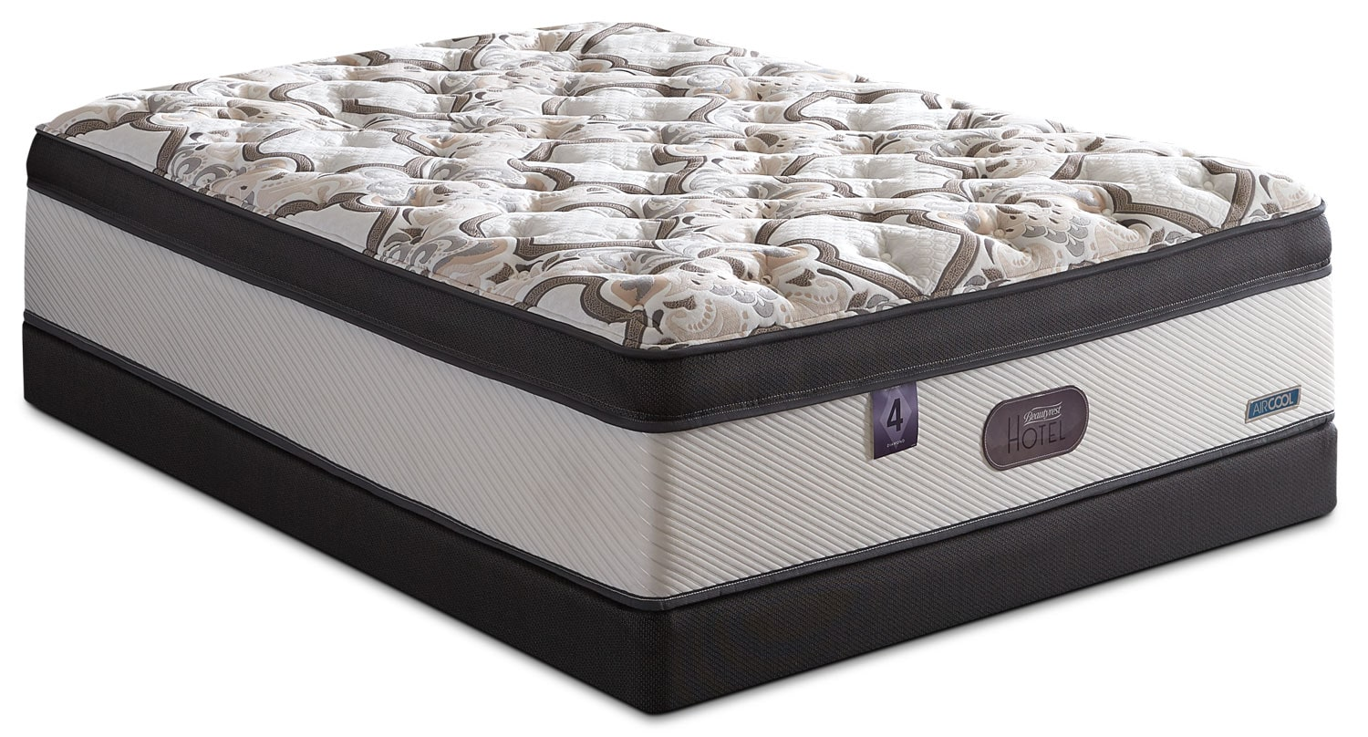 Beautyrest® Hotel Diamond 4 Comfort-Top Luxury Firm Twin Mattress Set