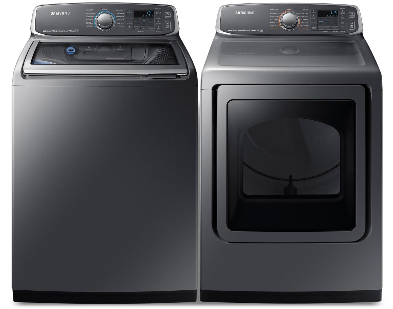 Samsung Laundry - WA52M7755AP/A4 / DVE52M7750P/AC