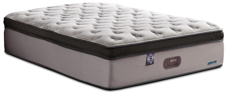 Matelas moelleux dessus confort pais hotel diamond 6 beautyrest pour lit d - Dessus de matelas confort ...