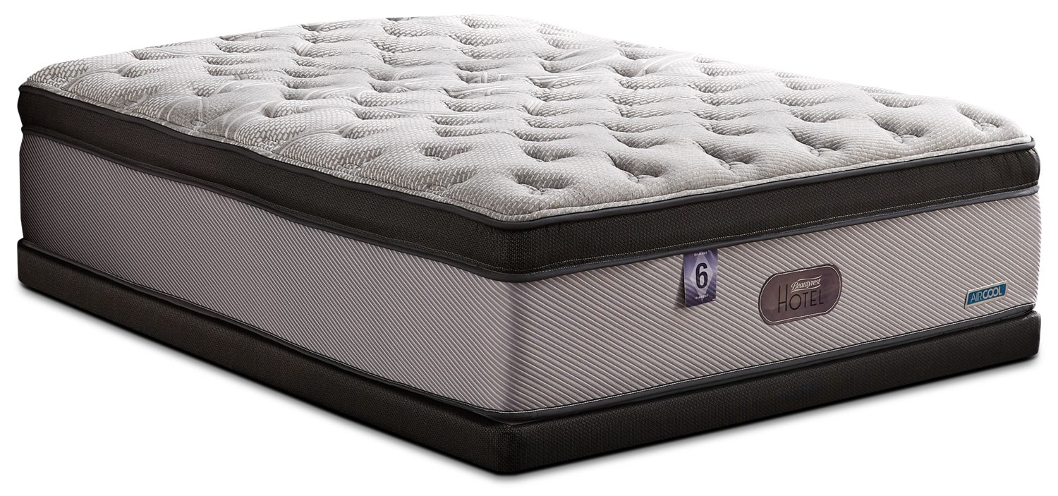 Mattresses and Bedding - Beautyrest® Hotel Diamond 6 Ultra Comfort-Top Plush Full Mattress Set