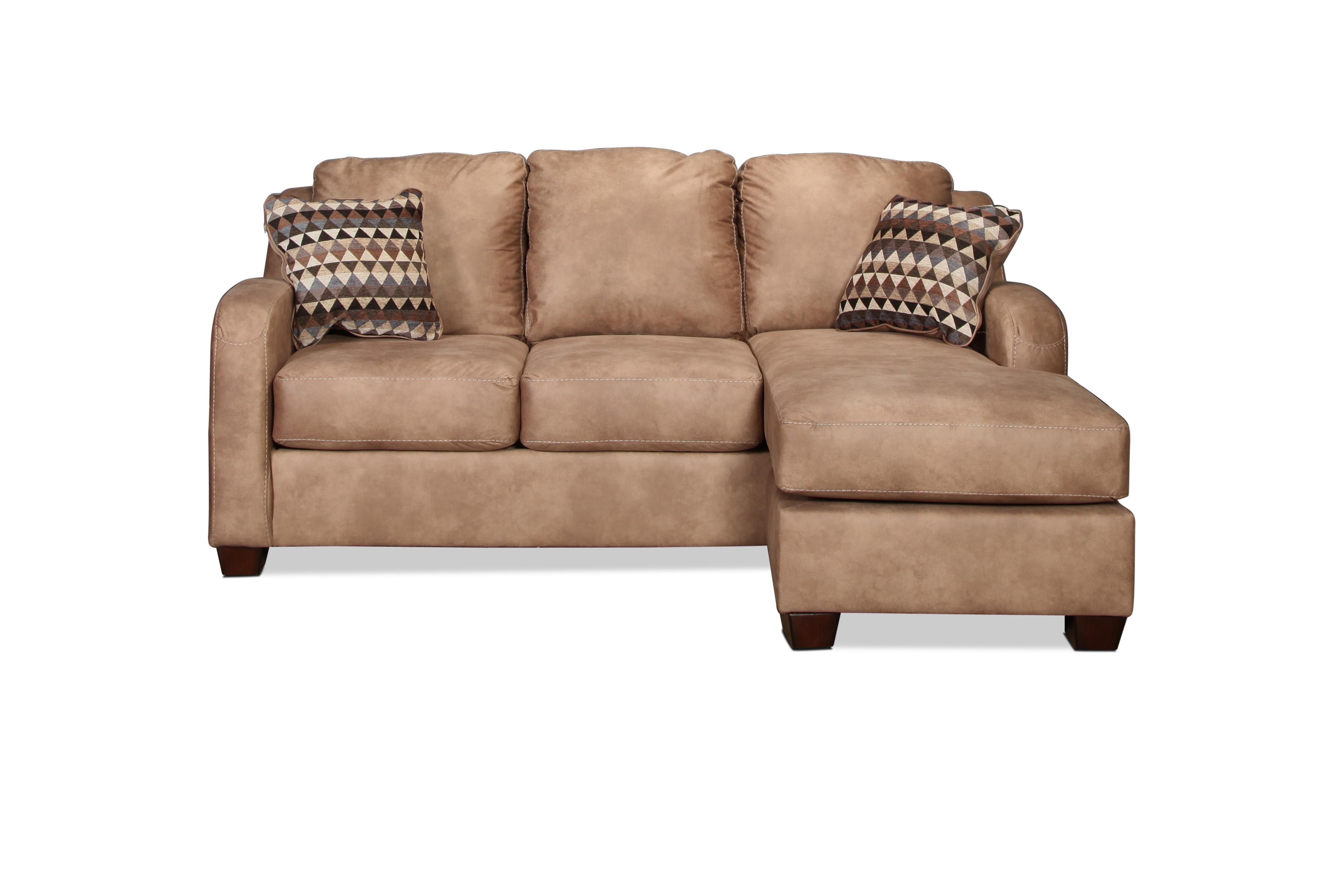 Living Room Furniture - Fresno Chaise Sofa - Dune