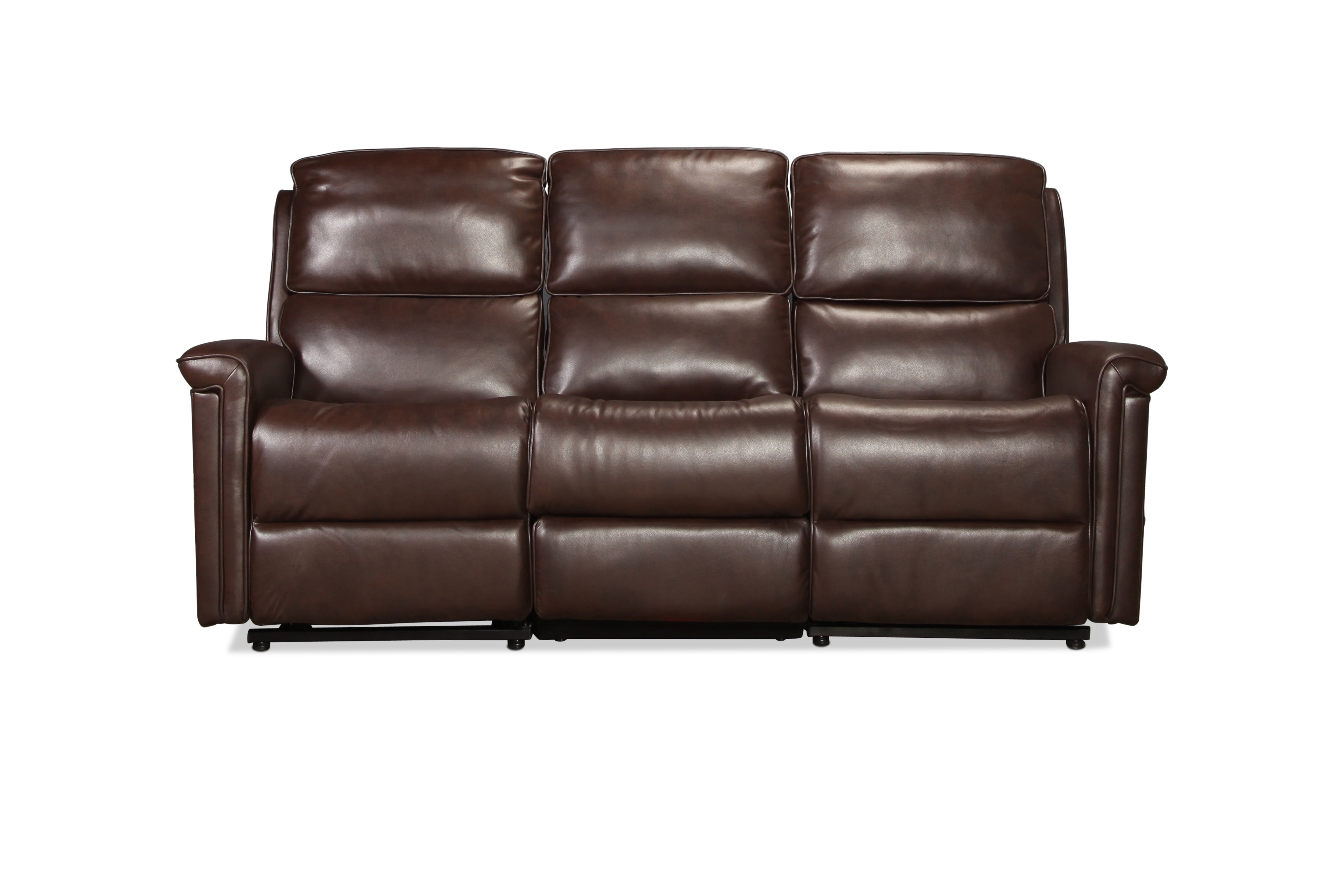Calverton Power Lift Reclining Sofa - Brown