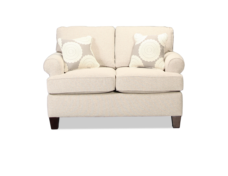 Living Room Furniture - Dover Loveseat - Birch