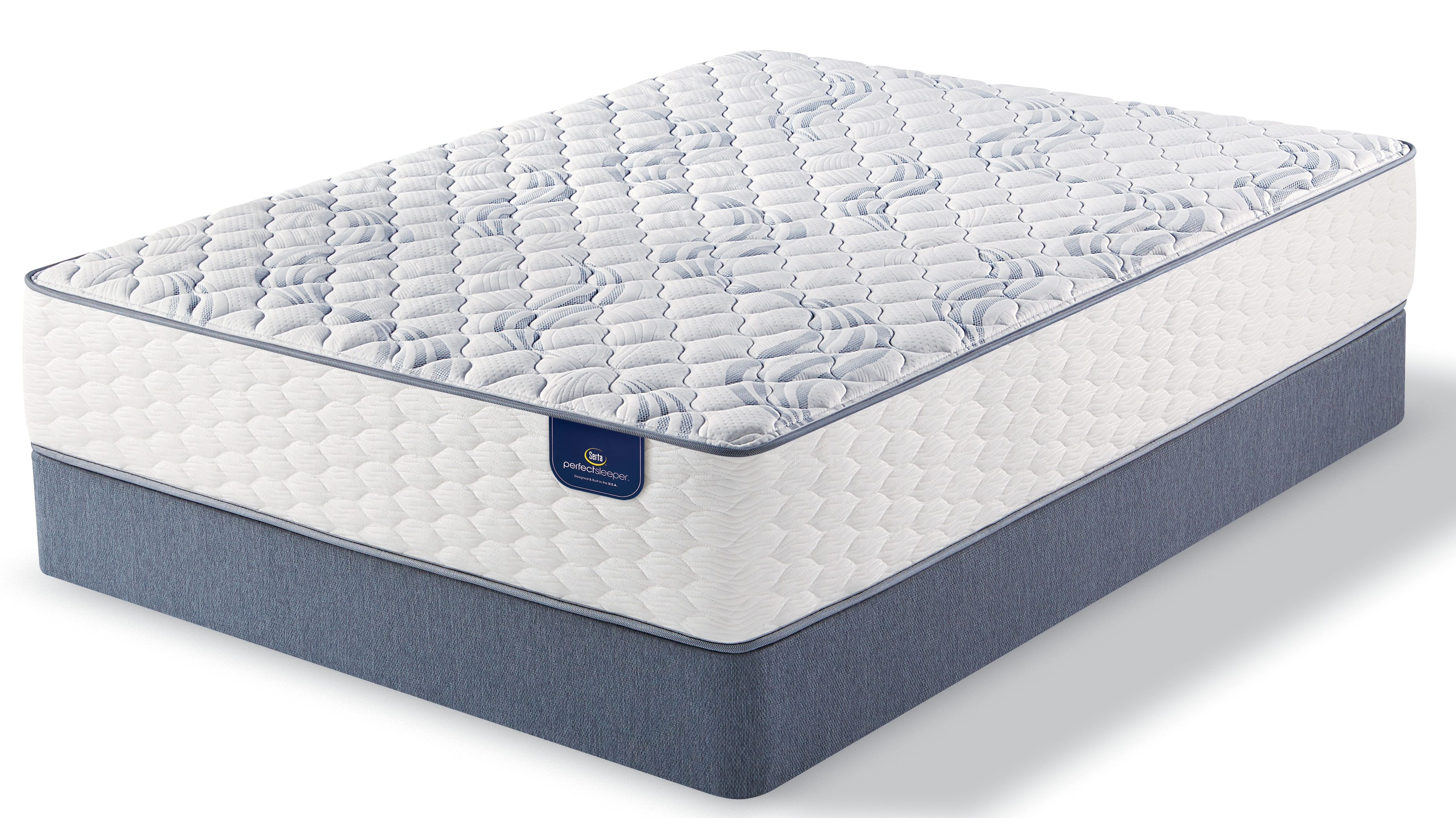 Signature Firm Queen Mattress and Split Boxsprings