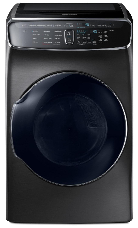 Laveuses et Sécheuses - Sécheuse électrique à la vapeur Samsung FlexDryerMC de 7,5 pi3 – DVE60M9900V/AC