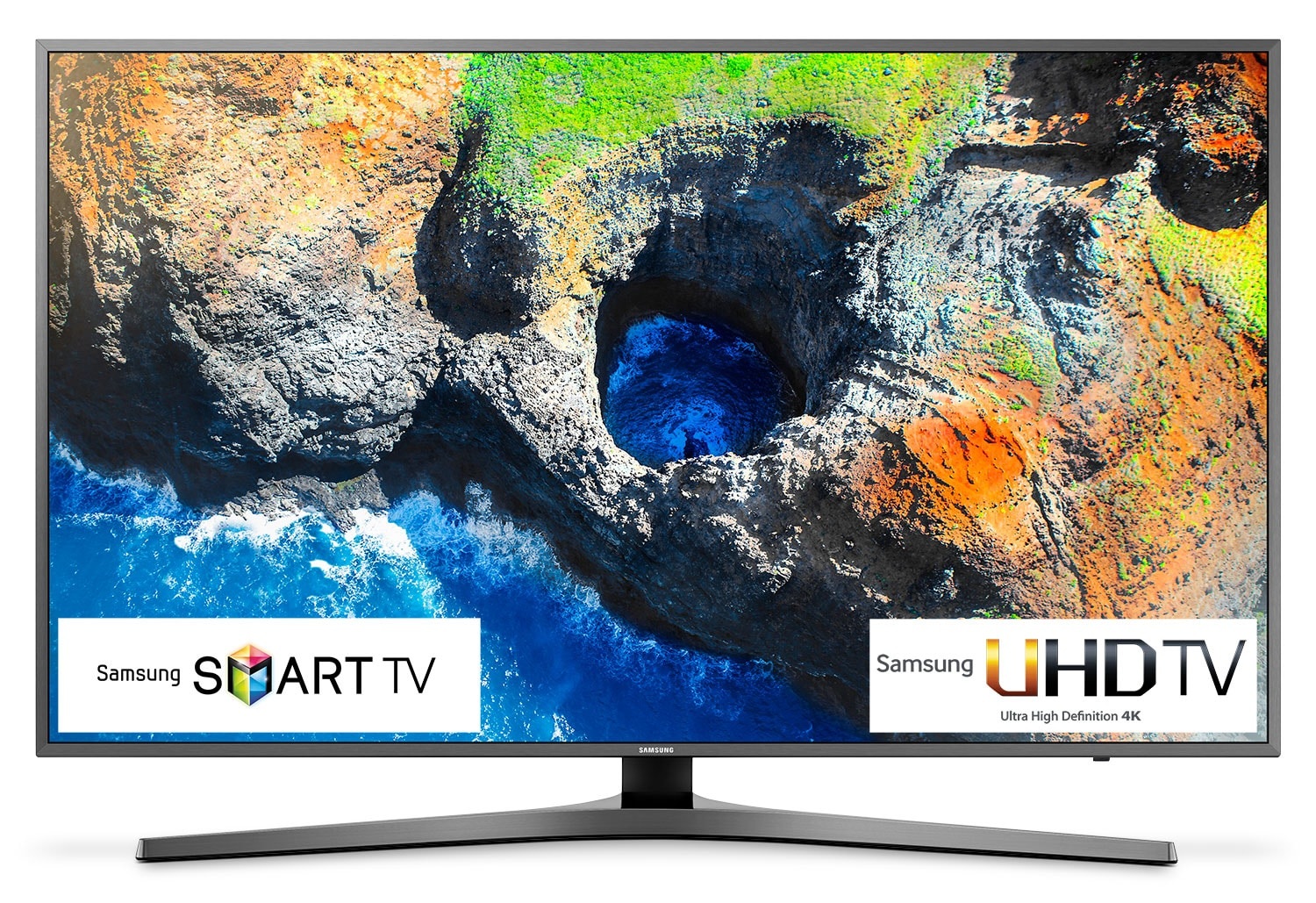 "Samsung 55"" 4K UHD Smart LED TV - UN55MU7000FXZC"