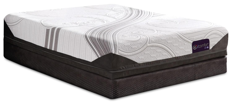 Matelas et sommiers - Ensemble à plateau régulier divisé à profil bas Stunning iComfort de Serta pour grand lit