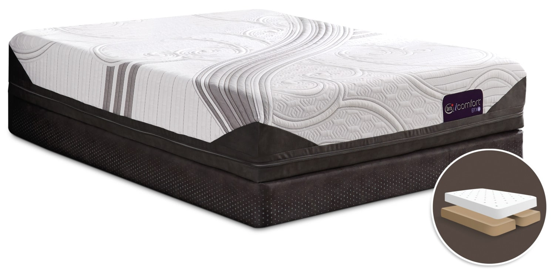 Mattresses and Bedding - Serta iComfort® Stunning Tight-Top Split Queen Mattress Set