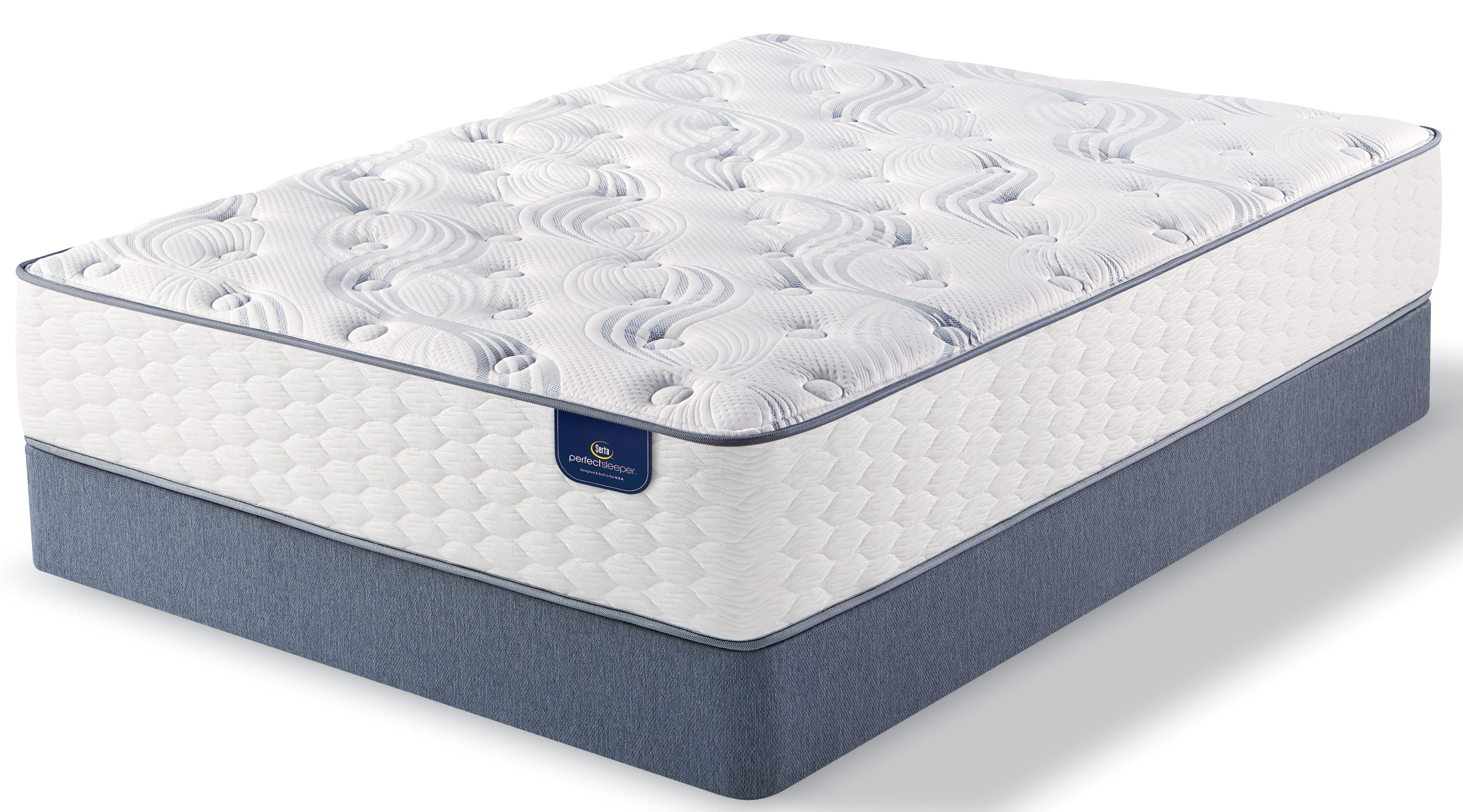 Signature Plush Queen Mattress and Boxspring