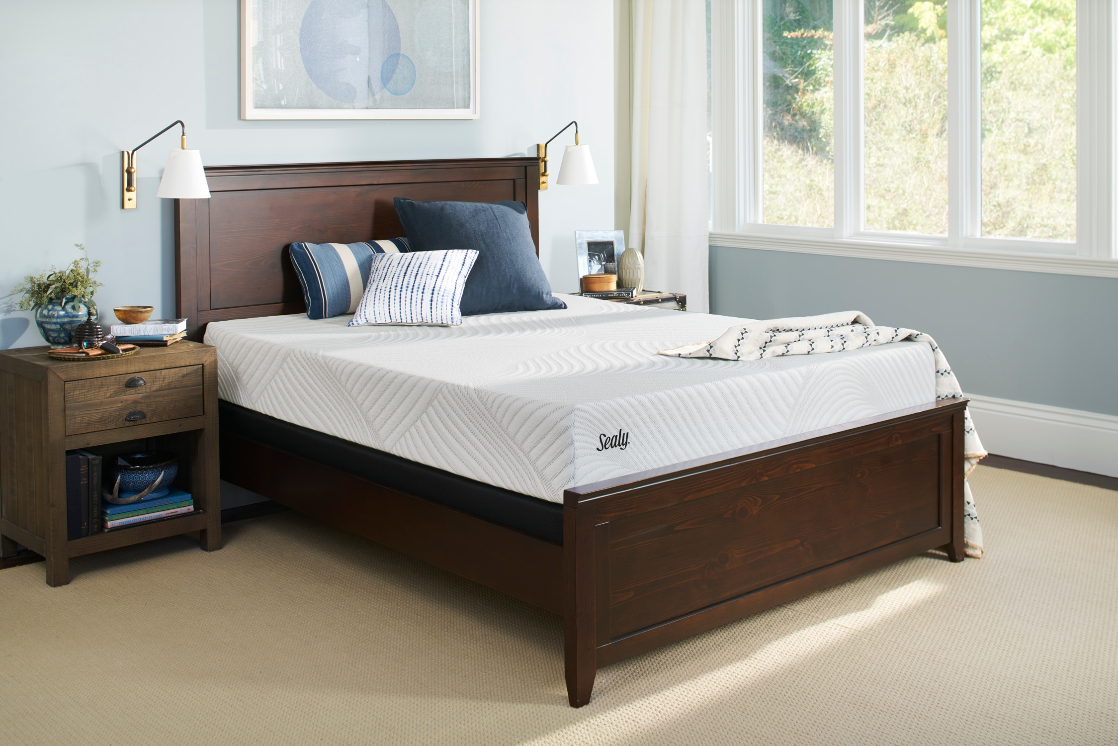 The Sealy Upbeat Gel Memory Foam Collection