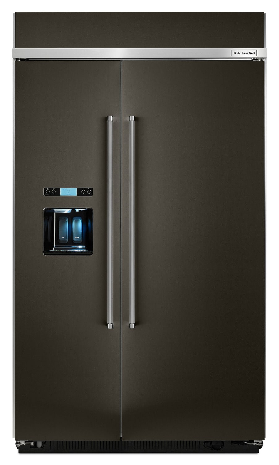 KitchenAid 29.5 Cu. Ft. Built-In Side-by-Side Refrigerator – KBSD608EBS
