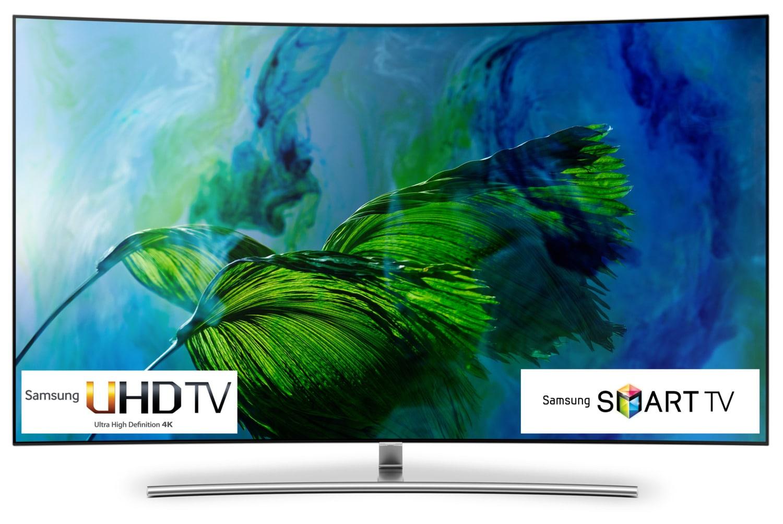 "Samsung 65"" 4K UHD Curved Smart QLED TV - QN65Q8CAMFXZC"