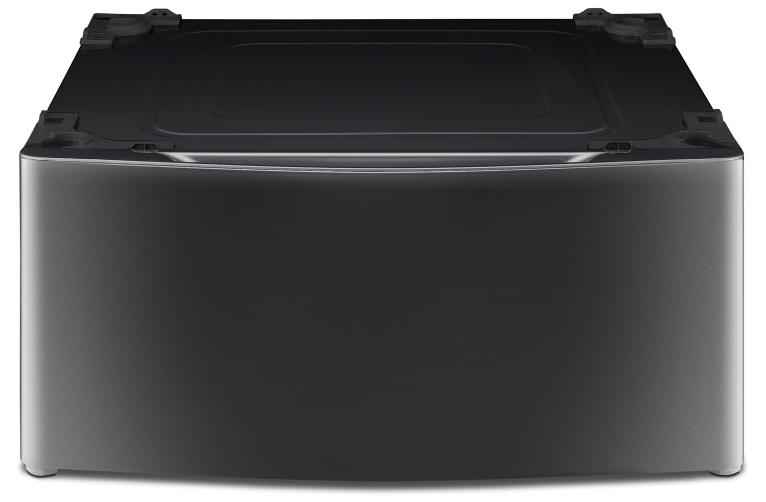 """Appliance Accessories - LG 29"""" Laundry Pedestal – Black Stainless Steel WDP4K"""