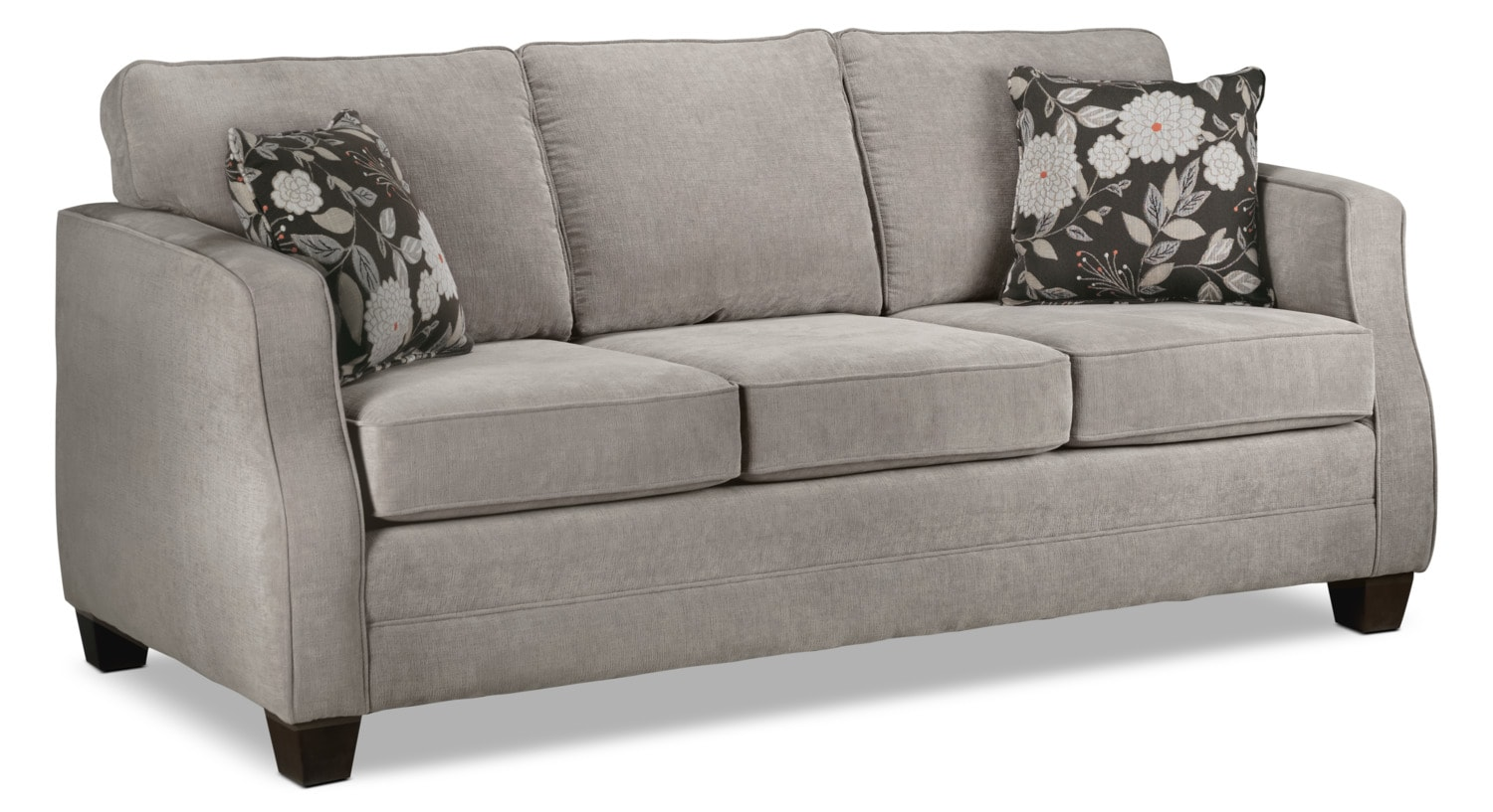 fabulous taupe living room furniture | Agnes Sofa - Taupe | Leon's