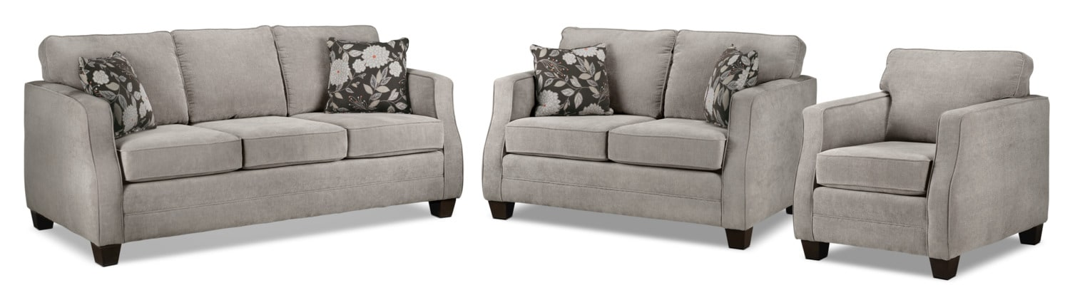 The Agnes Collection - Taupe