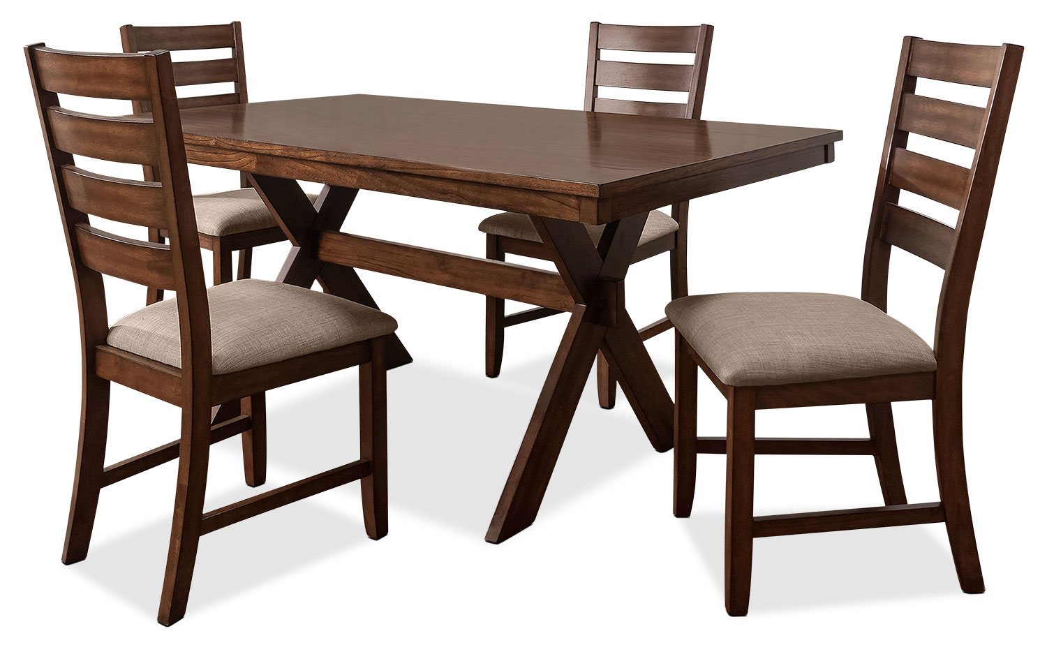 Dining Room Furniture - Kelsey 5-Piece Dining Package