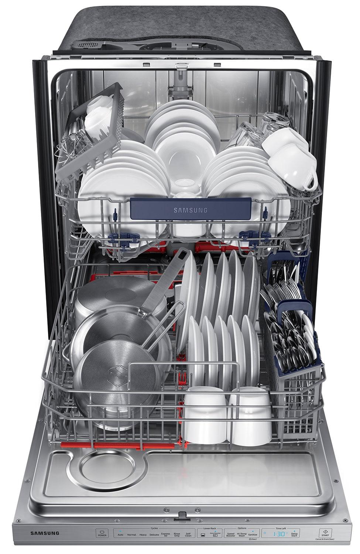 "Samsung Stainless Steel 24"" Dishwasher - DW80M9550US/AC"