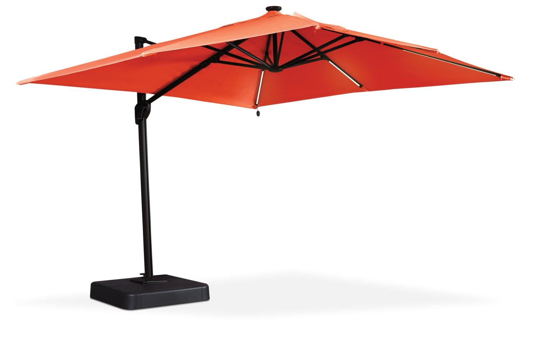 Mobilier de jardin - Parasol Oakengrove pour la terrasse – orange