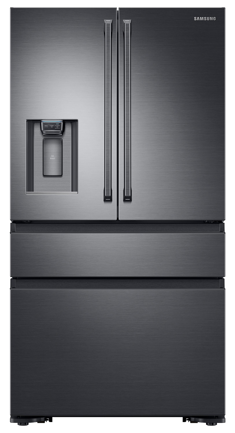 Samsung Black Stainless Steel Counter-Depth, French Door Refrigerator (23 Cu. Ft.) - RF23M8090SG/AA